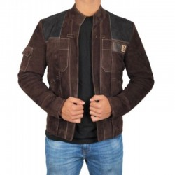 Han Solo A Star Wars Story Suede Jacket