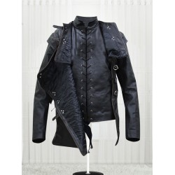 Kit Harington Game of Thrones Jon Snow Leather Jacket