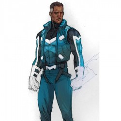Adam Brashear Blue Marvel Jacket