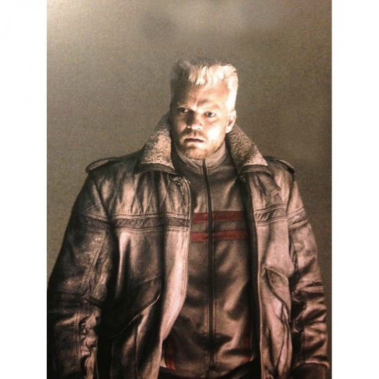 Batou Ghost in the Shell Leather Jacket