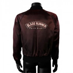 Blade Runner 1982 Crew Satin Jacket