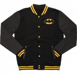 Batman Black Varsity Jacket
