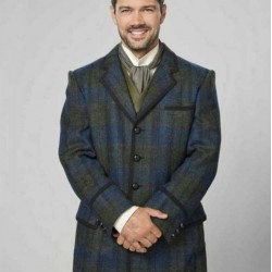 A Timeless Christmas Charles Whitley Plaid Coat