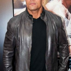 Fast And Furious 7 Dwayne Johnson Leather Jacket