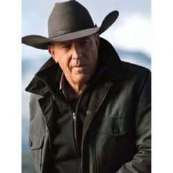 John Dutton Yellowstone Season 2 Cotton Jacket
