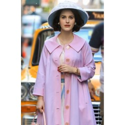 THE MARVELOUS MRS. MAISEL MIRIAM MAISEL LIGHT PINK COAT