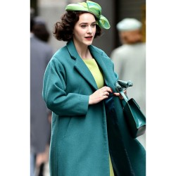 THE MARVELOUS MRS. MAISEL MIRIAM MAISEL SEA GREEN COAT