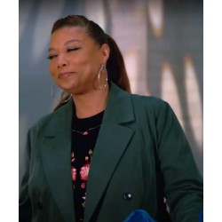 The Equalizer S02 Queen Latifah Double-Breasted Coat