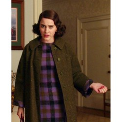THE MARVELOUS MRS. MAISEL RACHEL BROSNAHAN BLACK COAT