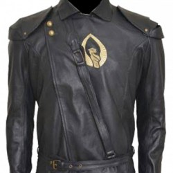 Aaron Jakubenko Shannara leather Jacket