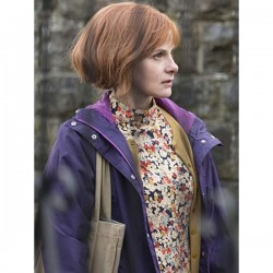 A Discovery Of Witches Gillian Chamberlain Purple Jacket