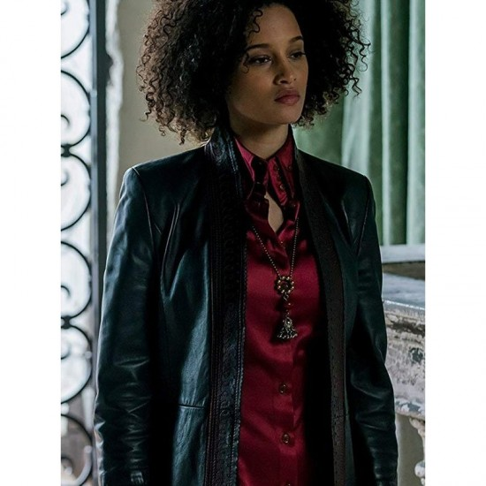 A Discovery Of Witches Juliette Durand Leather Jacket