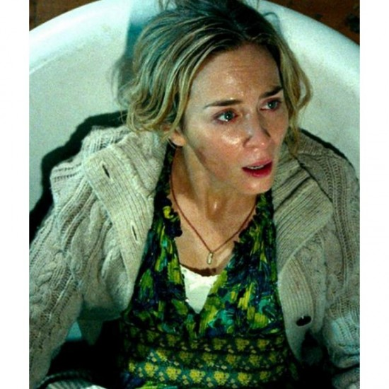 A Quiet Place Part Ii Emily Blunt Sweater