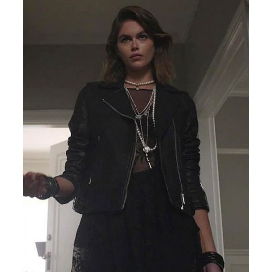 American Horror Stories 2021 Ruby Leather Jacket