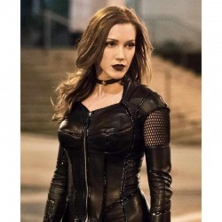Arrow Black Siren Leather Coat