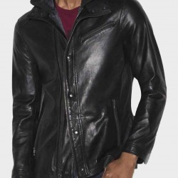 Arrow John Diggle Black Jacket