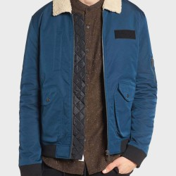 Arrow Rene Ramirez Blue Jacket