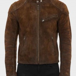 Arrow Roy Harper Suede Jacket