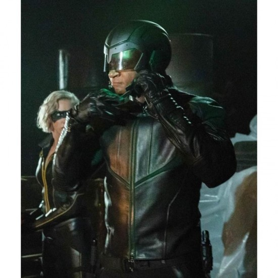 Arrow S08 John Diggle Spartan Jacket