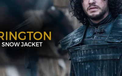 "SPOTLIGHT AT "" THE KIT HARRINGTON GAME OF THRONES JON SNOW JACKET"""