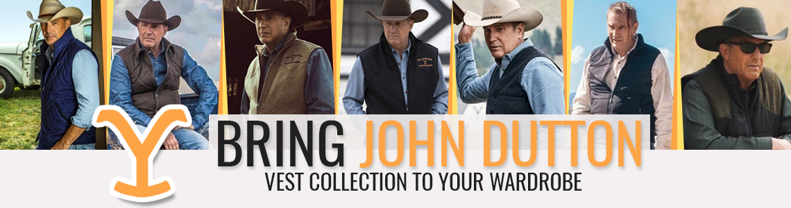 Bring John Dutton Vest Collection to Your Wardrobe