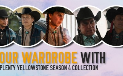 Update your wardrobe with Moses J. Brings Plenty Yellowstone Season 4 Collection