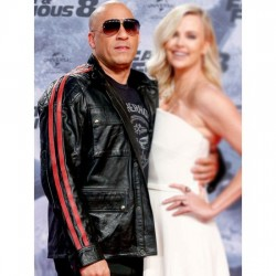 VIN DIESEL FAST AND FURIOUS PREMIERE LEATHER JACKET