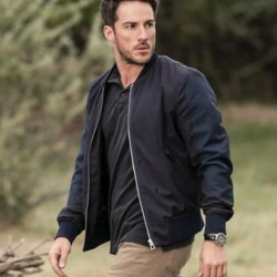 Michael Trevino Roswell New Mexico Bomber Jacket