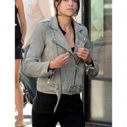 Fast and Furious 8 Letty Ortiz Grey Jacket