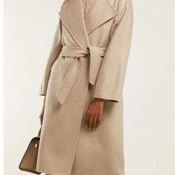 Lily Rabe The Undoing Wool Coat