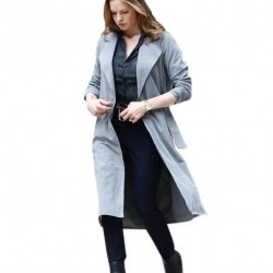 Mission Impossible Ilsa Faust Grey Coat