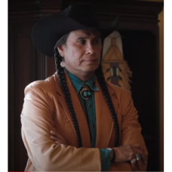 Yellowstone Season 4 Moses J. Brown Coat