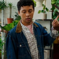 Dating & New York 2021 Jaboukie Young-white Jacket