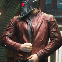 GotG Star Lord Leather Jacket