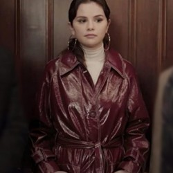 Only Murders in the Building Mabel Leather Coat