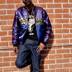 Gin and Juice Snoop Dogg Bomber Jacket