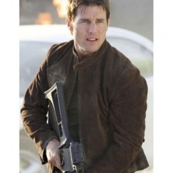Tom Cruise Mission Impossible 3 Suede Leather Jacket