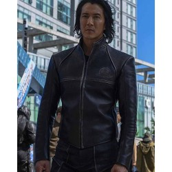 Altered Carbon S02 Stronghold Kovacs Black Leather Jacket