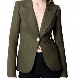 Arrow Dinah Drake Green Blazer