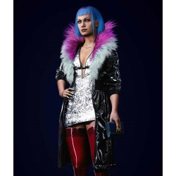 Cyberpunk 2077 Evelyn Parker Leather Coat