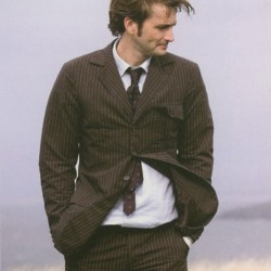 10th Doctor Who Pinstripe Suit
