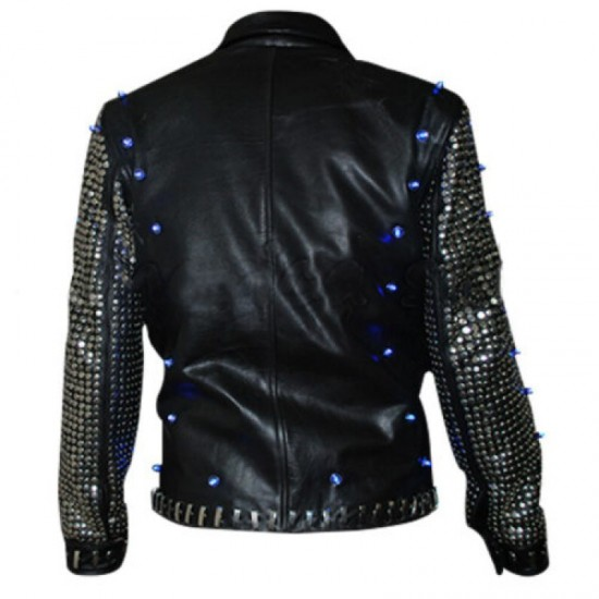 Chris Jericho Light Up Leather Jacket