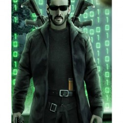 The Matrix 4 Keanu Reeves Trench Coat