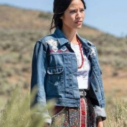 Monica Dutton Yellowstone S03 Denim Jacket