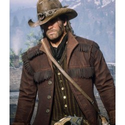 Red Dead Redemption 2 Arthur Morgan Fringe Brown Jacket