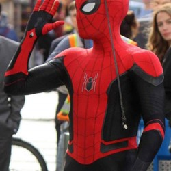 Spiderman Leather Costume For Adult