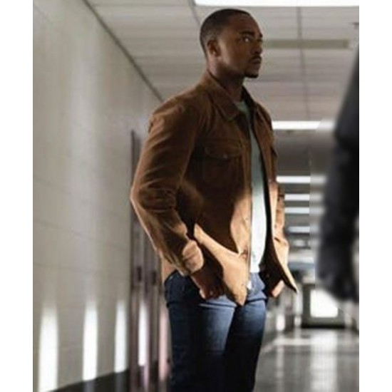 The Falcon and the Winter Soldier (2021) Sam Wilson Brown Jacket