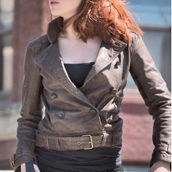 The Falcon And The Winter Soldier Natasha Romanoff Leather Jacket