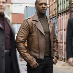 The Falcon and the Winter Soldier Sam Wilson Leather Jacket