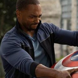 The Falcon and the Winter Soldier Sam Wilson Black and Blue Jacket